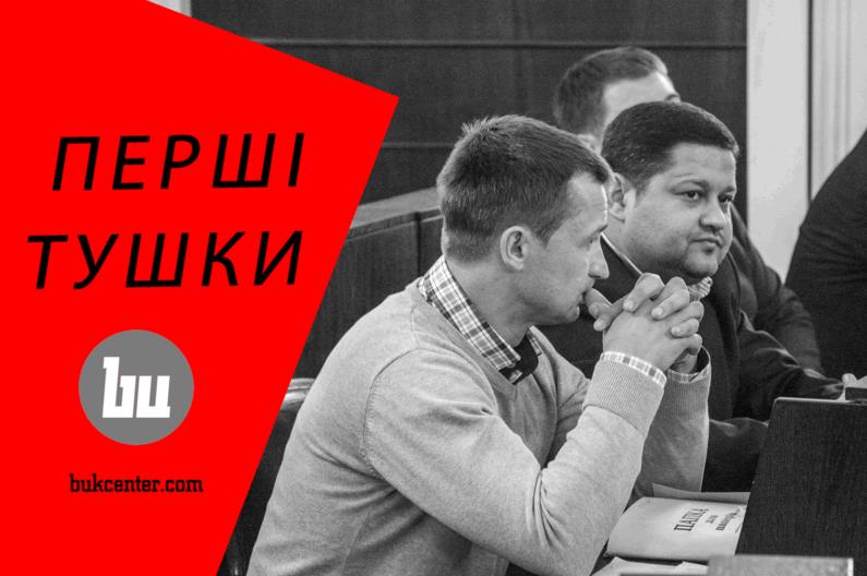 Михайло Шморгун   Перші «тушки» міської ради